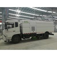 Quality Cummins 140HP Street Cleaner Truck , Road Washing Truck With Monitor for sale
