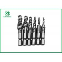 Quality HSS Combination Drill And Tap Set For Machine With Fully Ground Process for sale