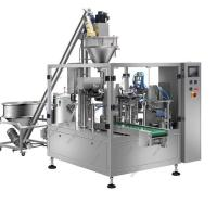 Buy cheap Custard powder packing machine, vertical packing machine for pouch , semi automatic granule filling machine for bag from wholesalers