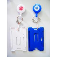 China Personalised Plastic Name Tag Holders , Yoyo Badge Holder With BSCI on sale