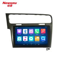 China VW Golf 7 4G android car navigation system wifi, 10 inch, USB, MIC,SWC on sale