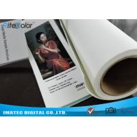 Quality Large Format 420gsm Inkjet Cotton Canvas Matte for Canon Plotters for sale