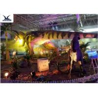 Quality Indoor Shopping Mall Realistic Dinosaur Statues Decoration Full Size Animal Models for sale