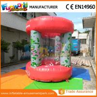 Quality Advertisng Inflatable Money Machine / Inflatable Crash Cube for Promotion for sale