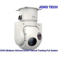 Quality Miniature Airborne 2 - Axis Electro Optical Sensor System With Cooled Thermal Camera And Daylight Camera for sale