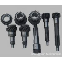 Quality Custom Precision Gears , Bronze Helical Gear W / Pin for Printer and Textile Machine for sale