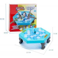 Penguin Trap Ice breaker Game Save Penguin on Ice Block Family Toy Funny Game