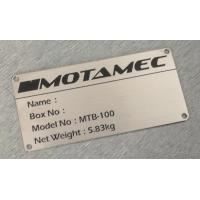 Quality Case Accessories Stainless Steel Brass Nameplate Logo for sale