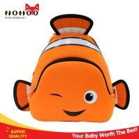 China 240g Ultra-light fashional clown fish animal backpack cute toddler backpack for travel on sale