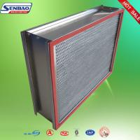 Quality 280C High Temperature Resistance Disposable HEPA filter for sale