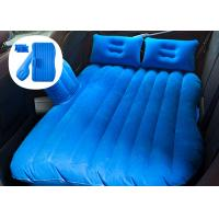 China Wear Resistant Car Travel Inflatable Mattress With Blow Up Pump Various Color on sale