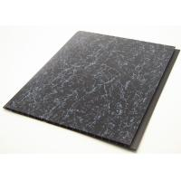 China Strip Shape PVC Plastic Wall Cladding With Calcium Carbonate For Floor on sale