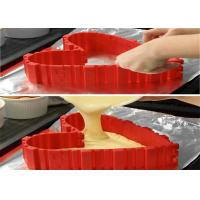 Quality Silicone Cake Mold Food Grade Nonstick Flexible Reusable Create Any Shape of Cake DIY Baking Mould Tools for sale