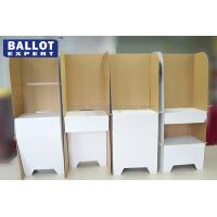 Portable Voting Booth Tri Wall Outdoor Floor Stand
