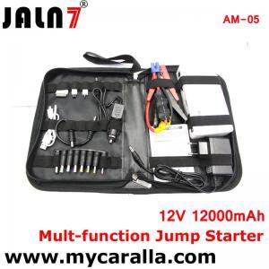 Quality JALN7® 12V Car Jump Starter Kit Multi-function 12000mah Car Battery Charger 12V Power Bank for sale