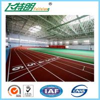 Quality Spray Coating surface Athletic Track Outdoor rubber sport surfaces track for sale