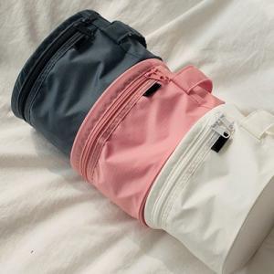 China Durable Pink Travel Undergarments Pouch / Underwear Travel Case Round Design on sale