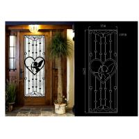 Quality OEM High Level Inlaid Door Glass for Building Decorative Art Glass Sound Insulation for sale