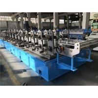 Quality Top Hat Automatic Roll Forming Machine 30kw High Speed 50m / min for sale