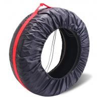 Quality tyre cover storage bags polyester tire bag for car,Diameter Foldable Spare Waterproof Tire Covers Protection bag for sale