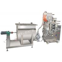 Quality SUS304 liquid / Jam / Sauce Packaging Machinery with PLC Controller for sale
