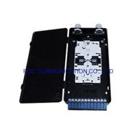 Buy cheap Plastic Fiber Optic Termination Box 12 Fiber Loaded With SC Pigtails And from wholesalers