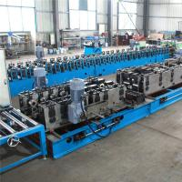 China Punching Mould Cable Tray Roll Forming Machine , 9 Rollers Roll Forming Equipment for sale
