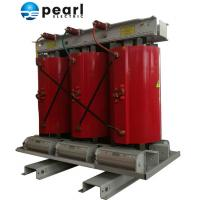 Quality Red Cast Resin Dry - Type Distribution Transformer With Rated Capacity 125KVA for sale