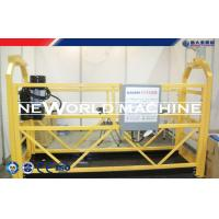 Quality Window Washing Suspended Work Platforms ZLP630 Type Hanging Scaffold for sale