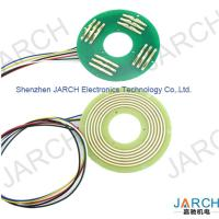 Buy cheap High speed 360° Rotating Electric PCB Pancake slip ring ultra thin 6mm pancace slipring 12 circuits from wholesalers