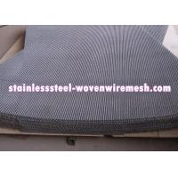Buy cheap Plain Crimped Electro Galvanized Mining Screen Mesh Square Aperture For Rust - from wholesalers