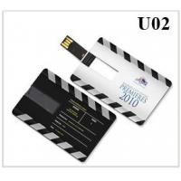 Quality Credit card shape USB flash drive for sale