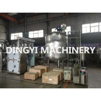 Quality PLC Control Jacketed Stainless Steel Mixing Tanks 380V 220V For Food / Chemical for sale