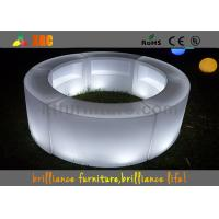 Buy cheap Remote control LED round bar counter / LED wine display table product