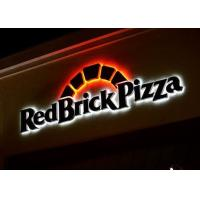 Quality Stainless Steel Advertising Light Up Brand LOGO Letters For Business Signs for sale