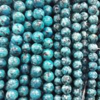 Quality blue spots  round beads for sale
