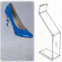 Quality Clear Acrylic Shoe Riser with Display Stand for sale