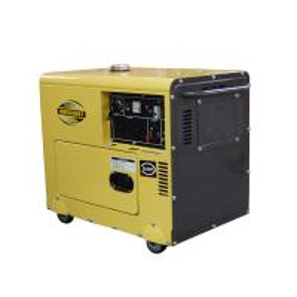Buy Fuel Efficient Lightweight Compact Diesel Generator , Enclosed Diesel Generator at wholesale prices