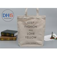 Quality Printed Custom Canvas Shopping Bags Giveaway For Business Advertisement for sale