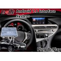 Quality Android 7.1 Interface Navigation Box for 2012-2015 Lexus RX 450h Mouse Control , Google Play Store for sale
