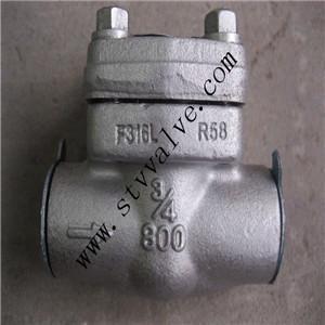 China API 602 small forged globe valve F11 Small forged check valve F11 Small forged gate valve on sale