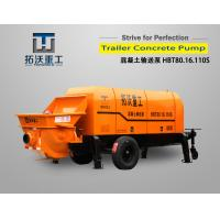 Mini / Lightweight Concrete Pump Double Cylinder Hydraulic Pumping System