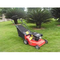 Buy cheap high quality 139cc petrol lawn mower tractor hand push portable lawn mower product