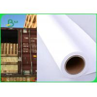 Quality 36 Inch × 150m 80gsm Plotter Paper Roll For Canon Printer Good Print Performance for sale