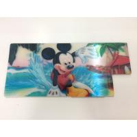 Quality Customized Shape Die Cutting PP 3D Lenticular Stickers For Pencil Case ISO9001:2008 for sale
