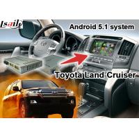 Quality Toyota Land Cruiser LC100 LC200 Android Navigation Video Interface Upgrade Touch Navigation WIFI for sale