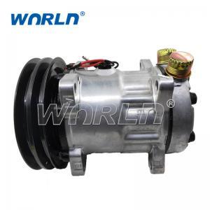 240402 12V TRUCK 709 AutoTruck AC Compressor For 7H15 2PK 152MM New Model