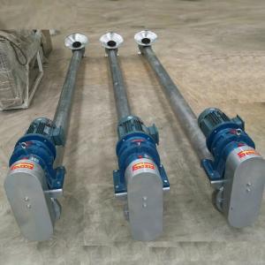 Buy cheap 304 Stainless steel Horizontal screw feeder stainless steel screw conveyor from wholesalers