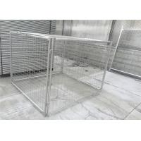 China Customized Galvanised Steel Rubbish Cage HDG 14 Microns / 42 Microns on sale