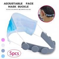 Quality Mask ear strap hook Third Gear Adjustable Anti-Slip Mask Ear Grips Extension Hook connection Ear Protector Bandage for sale